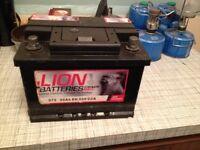 Car batterys, New 063/075/100! (Read ad)