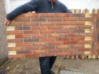 Brick Panels, brick tiles, Brick slips Wall Cladding Home Improvement