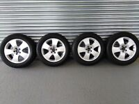 (As New) Mercedes S-Class Winter Wheels & Tyres [07 Plate]