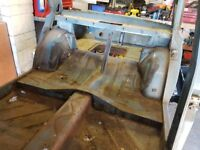 1963 Mk1 cortina pre airfow bodyshell. In fairly good codition some welding needed.