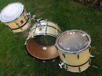 Vintage 1980s Premier Resonator drum kit