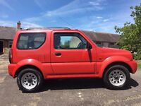 Suzuki Jimny 2005 Manual, Red, Good Condition, Low Mileage, Recently Serviced