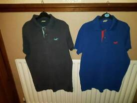 Men's Hollister polo shirts