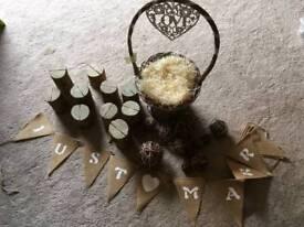 Woodland)vintage wedding accessories