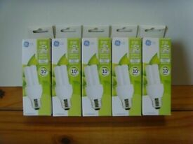 5 New 9W Energy Saving Light Bulbs - Can DELIVER or POST