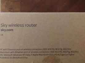 Sky wireless router v.6