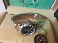 LADIES ROLEX OYSTER DATEJUST PERPETUAL Automatic Watch, Rose gold