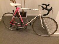 Raleigh mercury vintage racer bike