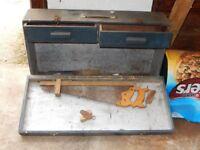 CARPENTERS 1960's TOOL BOX