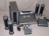 PHILIPS LX3750W /25S DVD Video Digital Surround System full original set