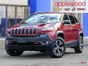 2017 Jeep Cherokee Trailhawk NAVIGATION, 4X4, LEATHER