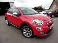 Fiat 500X MULTIJET POP STAR (red) 2015