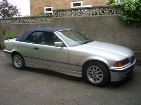 BMW 323i CONVERTIBLE 1999. ONE OF THE LAST e36 MODELS,LOW MILES,A FUTURE CLASSIC.