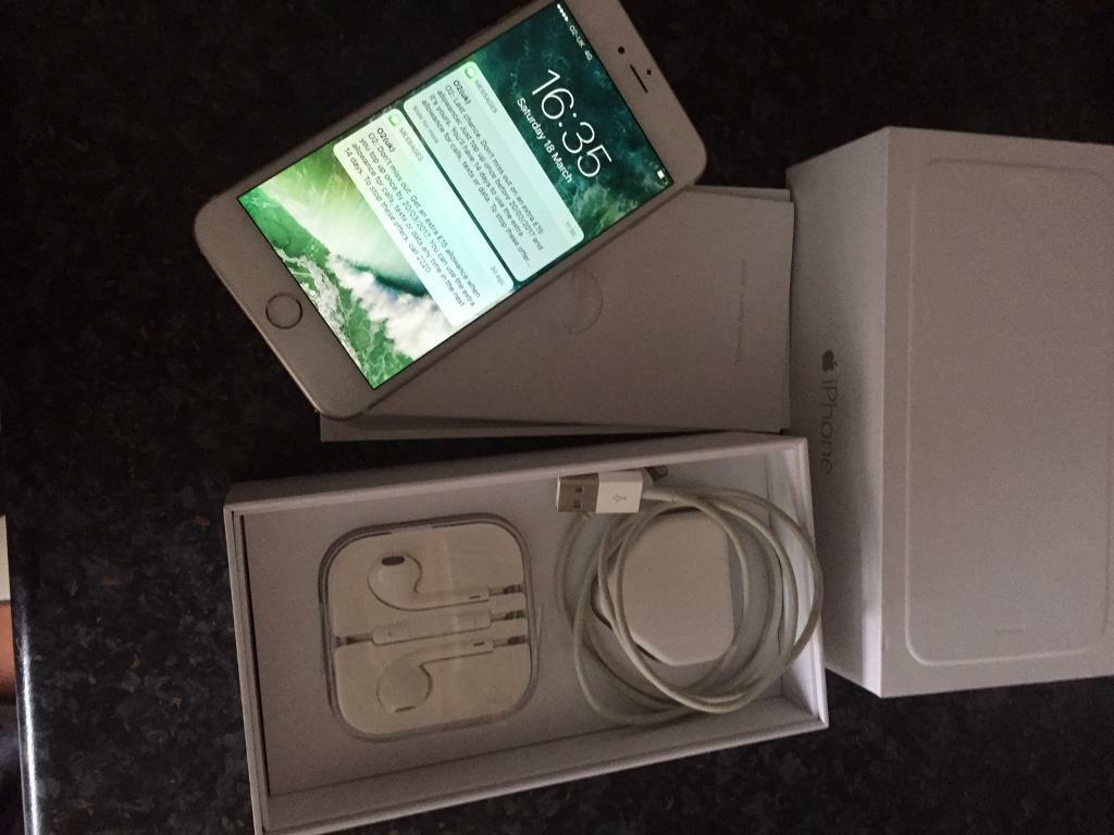 iphone 6 plus 64gb in rose gold in county antrim gumtree. Black Bedroom Furniture Sets. Home Design Ideas