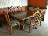 Country Style Dinning Room Table 8 Seater