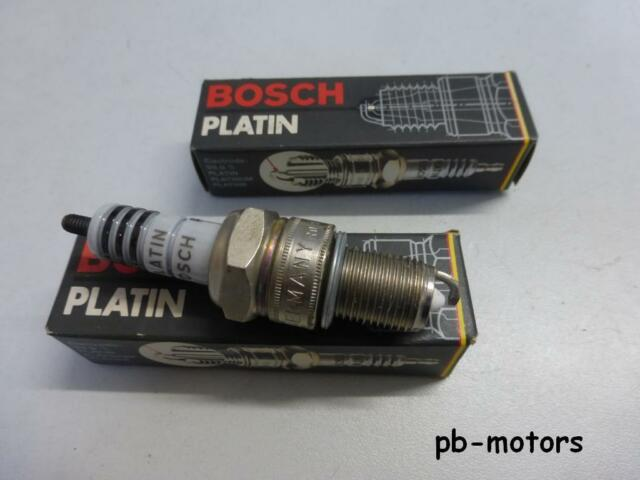 . 2x Bosch Platin Zündkerze W6DP 0,7 mm