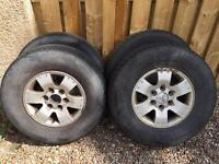 "16"" Mitsubishi Shogun L200 Alloy Wheels X4"