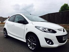 2013 MADZA 2 VENTURE EDITION 1.3 PETROL ONLY 24k MILES FROM NEW LOW TAX AND INSURANCE