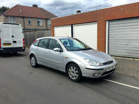 2004 Ford Focus 1.6 GHIA - Manual - Silver - A/C - Full History - Excellent Condition - £850