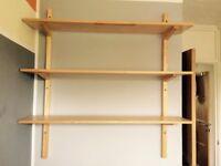 Ikea 'new in box' Wood shelves