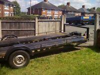 Car transporter trailer heavy duty