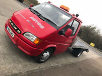 Ford transit Recovery Truck with Remote Winch Long MOT - classic collectible mk 5 4 3 - Low miles