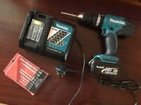 EXPENSIVE NEVER USED DRILL MAKITA ONLY £80!!!!!