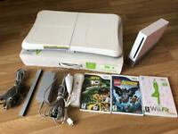 Nintendo Wii console, all cables and Wii board boxed