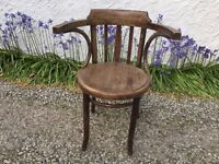 Original Bentwood Dining Chair with arms