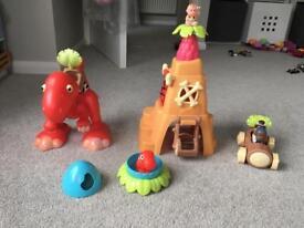 Happy land dinosaur set