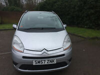 Citroen Picasso C4 Grand Picasso 7 seater 1.6 VTR Plus. HPI clear. New timing belt+water pump