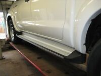 Side Steps Running Boards genuine for Toyota Hilux removed from year 2015 Double Cab