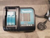 NO OFFERS..MAKITA DC18SD 14.4v-18v li-ion lithium ion LXT charger