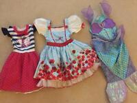 Fancy Dress Girls Age 3-4
