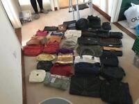 Job lot of hand bags