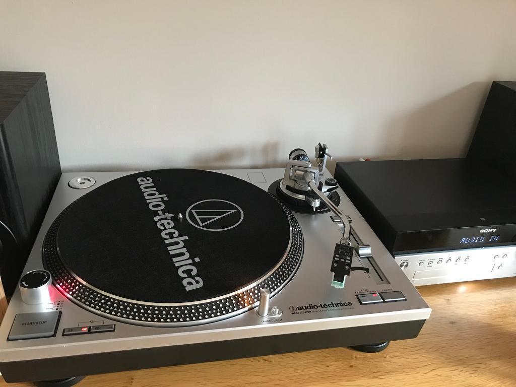 Audio Technica Turntable and Sony Hifi setup | in Durham, County Durham |  Gumtree
