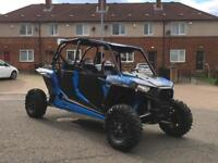 Polaris buggy RZR 4 seater turbo 2016