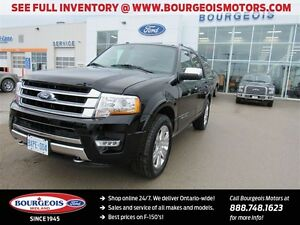 2016 Ford Expedition *DEMO* PLATINUM 4X4 REMOTE START NEW 600A