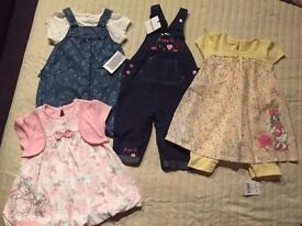 Girls 3-6 months. New