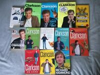 JEREMY CLARKSON BOOK COLLECTION (13 ITEMS)