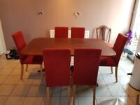 Dining Chairs & Table