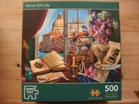 Bundle of 10 x 500 piece Jigsaw Puzzles (will sell individually for £1.50 each)