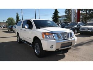 2012 Nissan Titan SL, 4X4,Leather,Htd seats,Tow package
