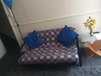 Sofa Bed (Reversible coloured mattress)