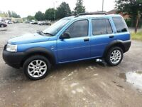 LAND ROVER FREELANDER 1.8 GS (Blue) Clean one owner, full Land Rover history car