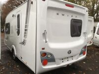 ☆ 08/09 SWIFT CHALLENGER 480SE 2 BERTH ☆ TOURING CARAVAN ☆MOTOR MOVER☆ AWNING ☆ FULLY SERVICED ☆