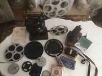 Rare Vintage Dekko 48 Cine Film Projector Pathescope exposure calculator & more