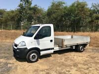 VAUXHALL MOVANO 2.5 DIESEL LWB DROPSIDE TRUCK 2008 08-REG FULL SERVICE HISTORY DRIVES EXCELLENT