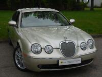 **STUNNING*** Jaguar S-Type 2.7 D V6 SE 4dr SAT NAV** FULL SERVICE HISTORY** MASSIVE SPEC* AA WARRAN