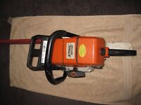 Stihl MS 440 Chainsaw. Very low working hours